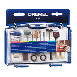 Dremel 60-120 Grit Multipurpose Kit (Dia)147mm, Set of