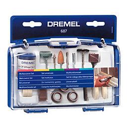 Dremel 60-120 Grit Multipurpose Kit (Dia)147mm, Set of