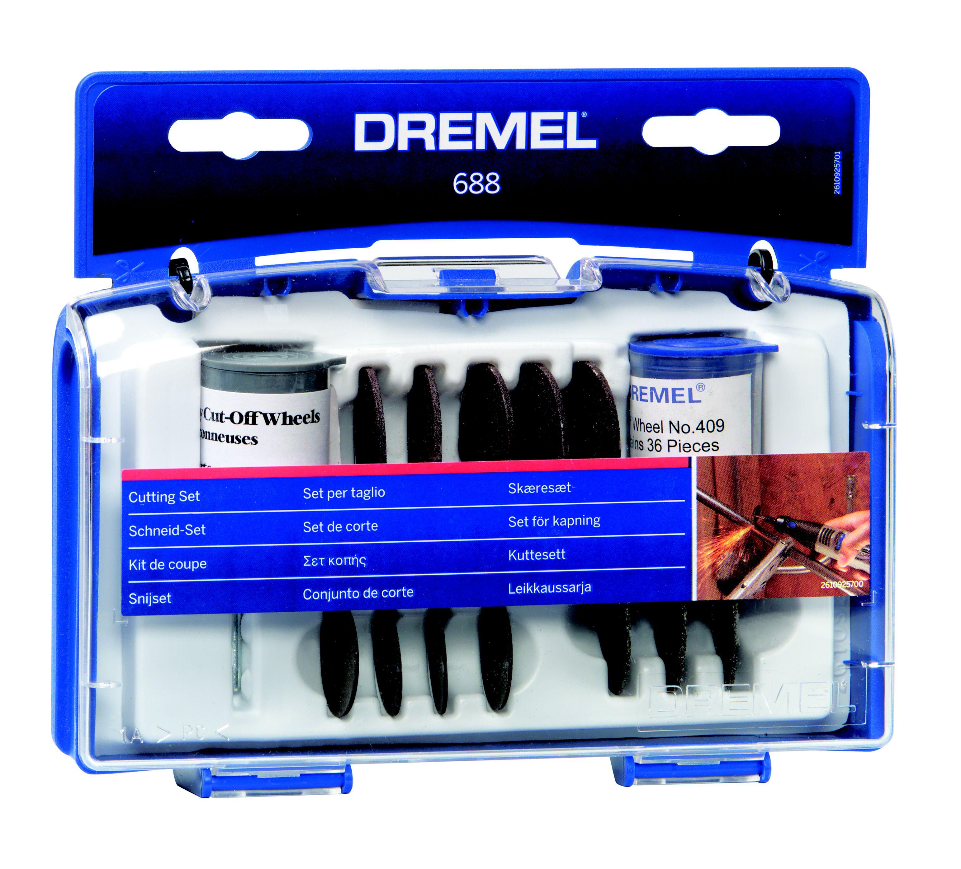 Dremel 420 Cut Off Wheel 3 pack//60 pcs.