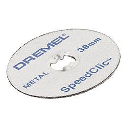 Dremel SpeedClic (Dia)38mm Cutting Disc, Pack of 12