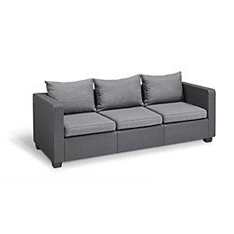Salta Rattan effect Sofa