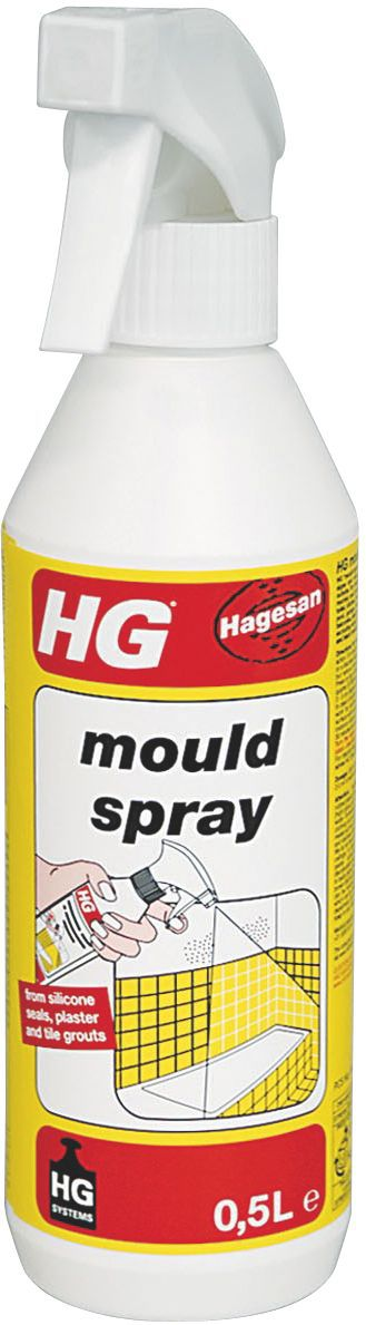 HG Mould Remover Spray Ml Departments DIY At BQ - Bathroom mould remover