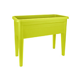 Green Basics Lime Green Grow Table (H)651mm (L)750mm
