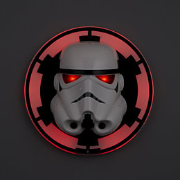 Storm Trooper 3D White Wall Light