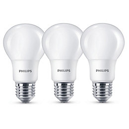 Philips E27 806lm LED GLS Light Bulb, Pack