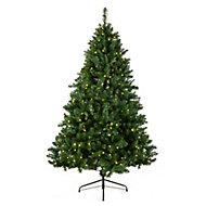 8ft Oregon Full Pre-lit Artificial Christmas tree