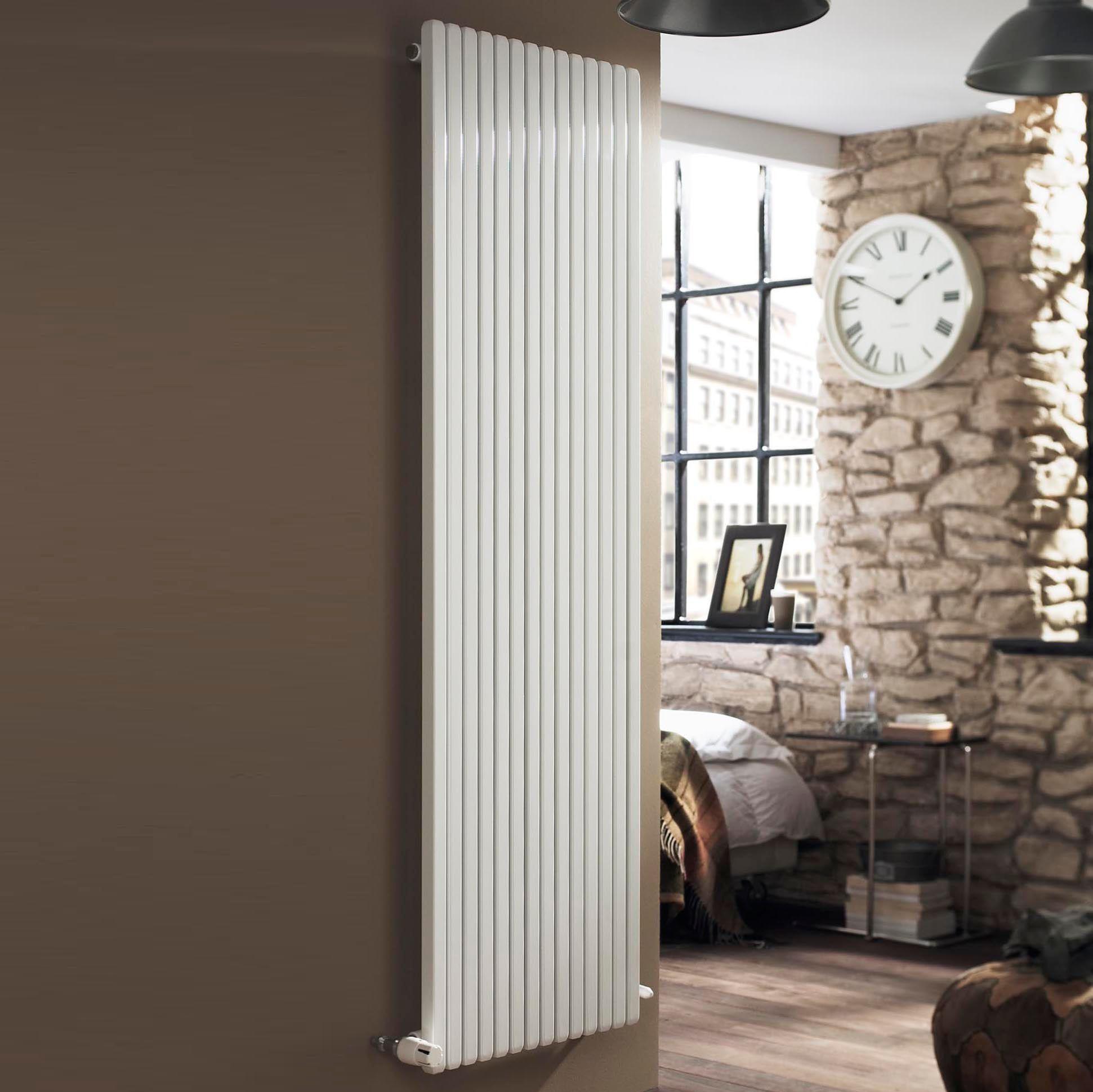 Ximax Supra Square Vertical Radiator White (H)1800 mm