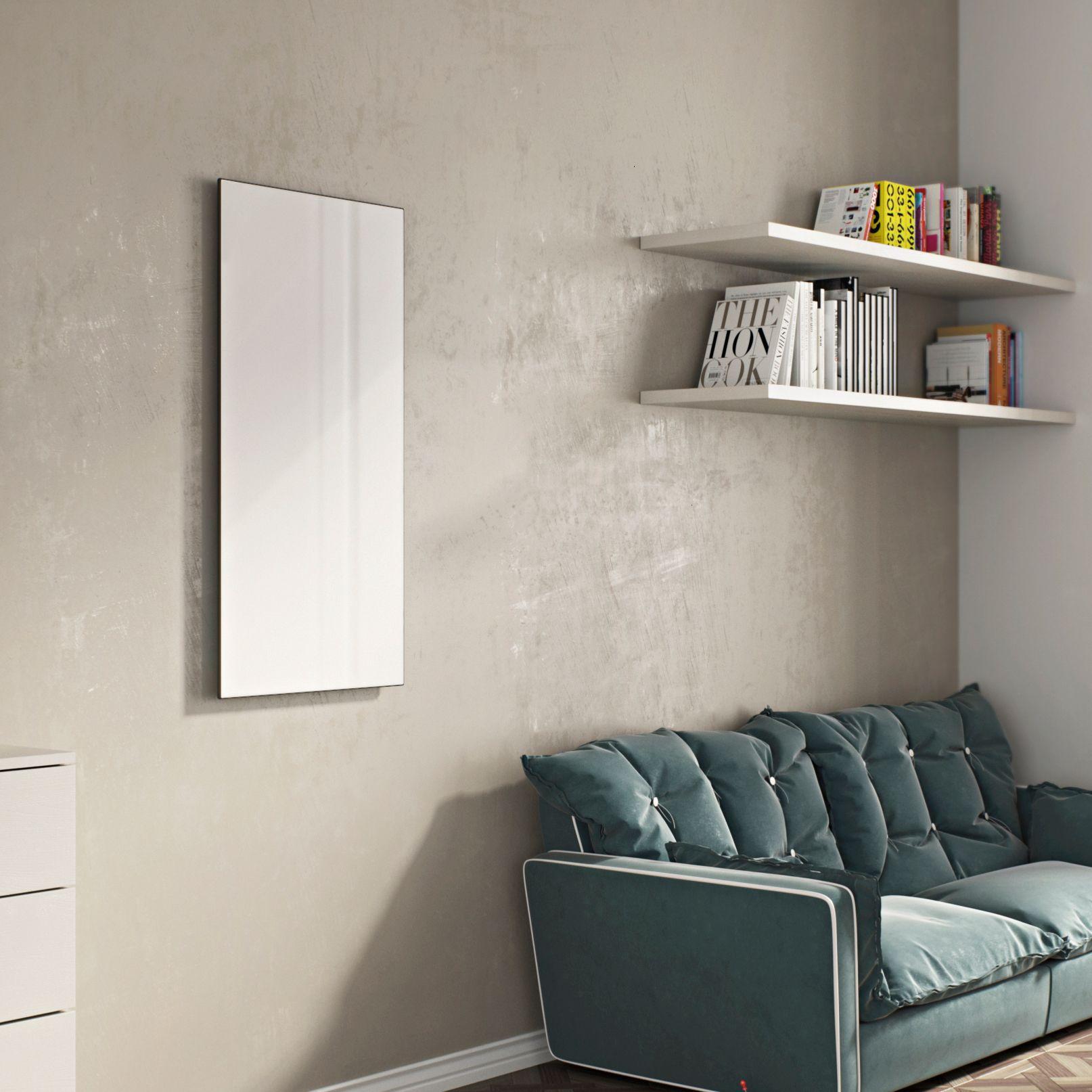 Ximax Infrared glass Horizontal Radiator White (H)600 mm