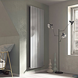 Ximax Vertirad Duplex Vertical/Horizontal Radiator Silver (H)1500