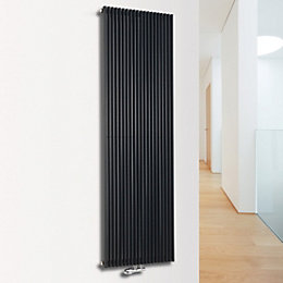 Ximax Triton Vertical Radiator Anthracite (H)1800 mm (W)300