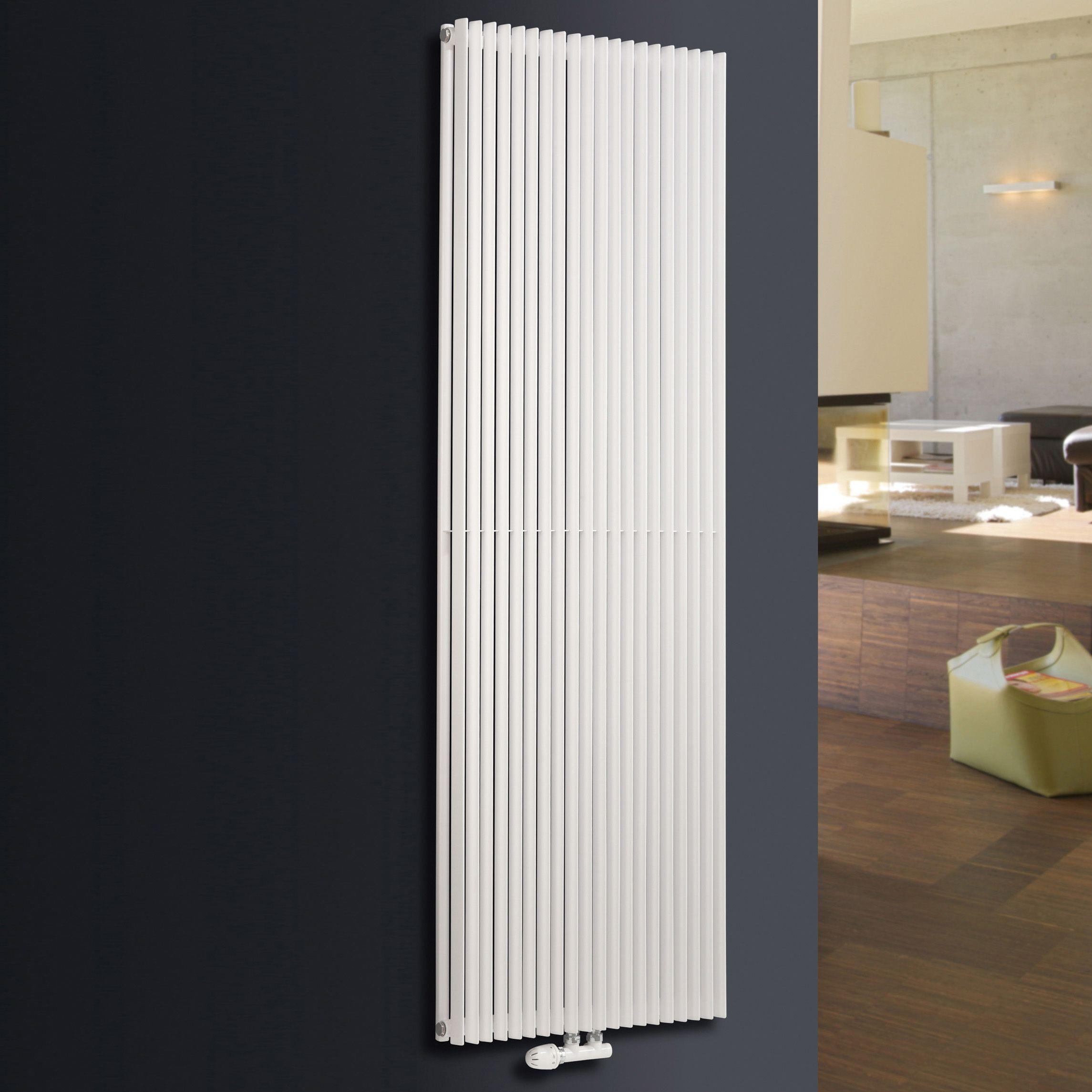 Ximax Triton Duplex Vertical Radiator White (H)1800 mm