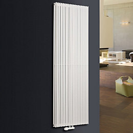 Ximax Triton Duplex Vertical Radiator White (H)1800 mm