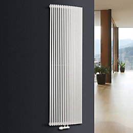 Ximax Triton Curve Vertical Radiator White (H)1800 mm