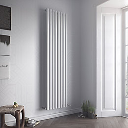 Ximax Fortuna Vertical Radiator White (H)1800 mm (W)236