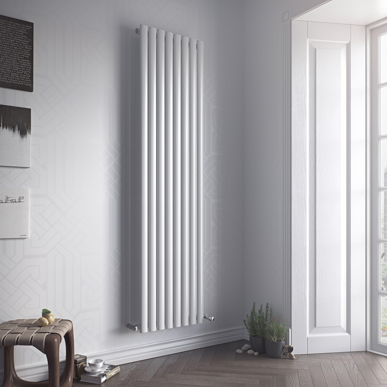 Ximax Fortuna Vertical Radiator White (H)1800 mm (W)590