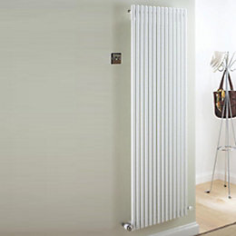 Ximax Supra Vertical Radiator White (H)1500 mm (W)470