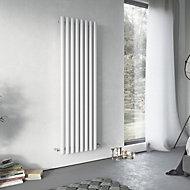 Ximax Vulkan Vertical Radiator White (H)1500 mm (W)435 mm