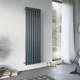 Ximax Vulkan Vertical Radiator Anthracite (H)1500 mm (W)435