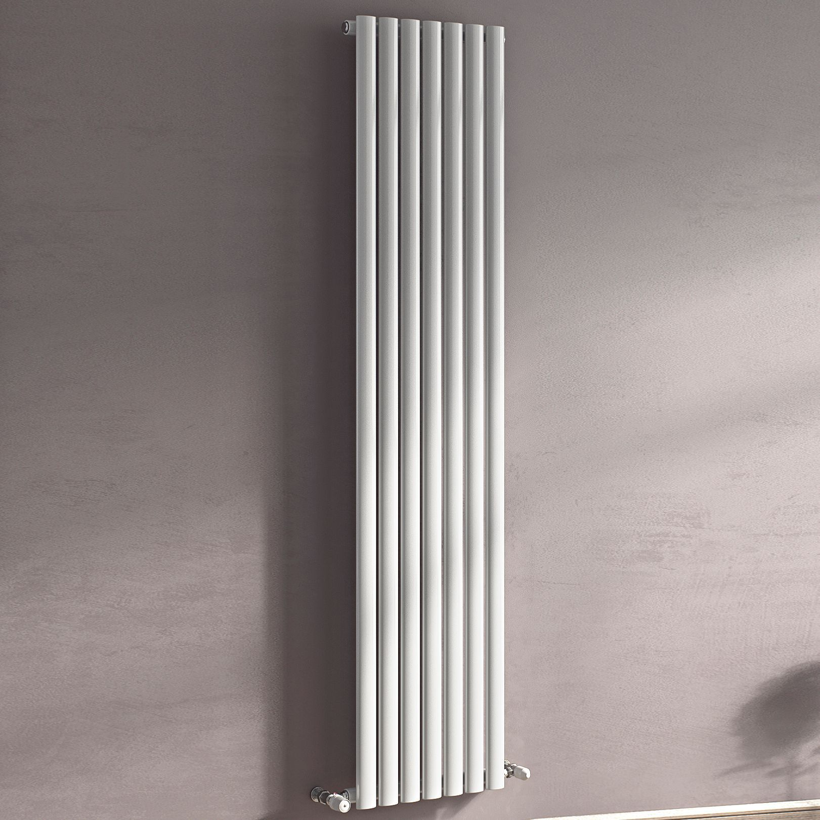 Ximax Champion Vertical Radiator White (H)1800 mm (W)526