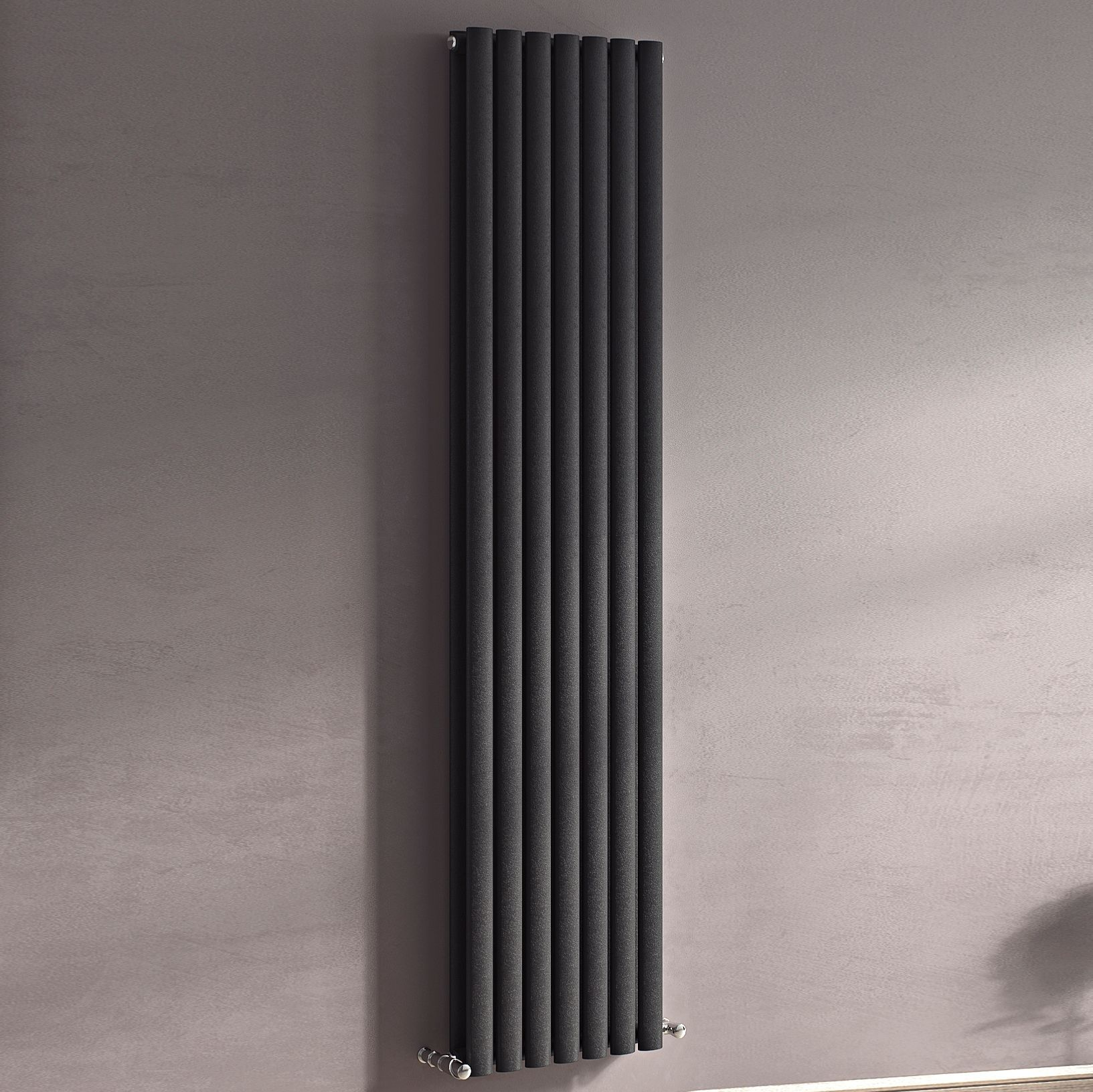 Ximax Champion Vertical Radiator Anthracite (H)1800 mm (W)294