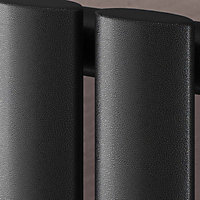 Ximax Vertical Radiator Black silver (H)1800 mm (W)526 mm