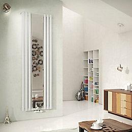 Ximax Fortuna Mirror Vertical Radiator White (H)1800 mm