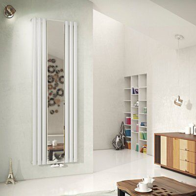Ximax Fortuna Mirror Duplex Vertical Radiator White (H)1800