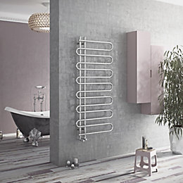 Ximax C8 Chrome Towel Warmer (H)1000mm (W)500mm