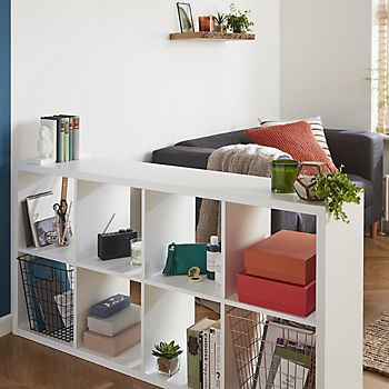 Mixxit storage furniture and floating shelf