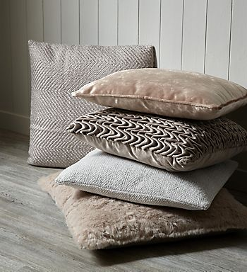 Cushions in Minimising home decor range