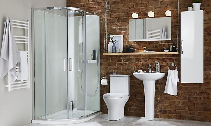 Bathroom With Wall Mounted Storage
