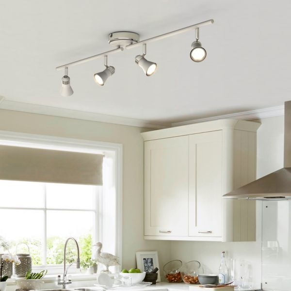 Kitchen lights kitchen ceiling lights spotlights spot amp downlights aloadofball Image collections