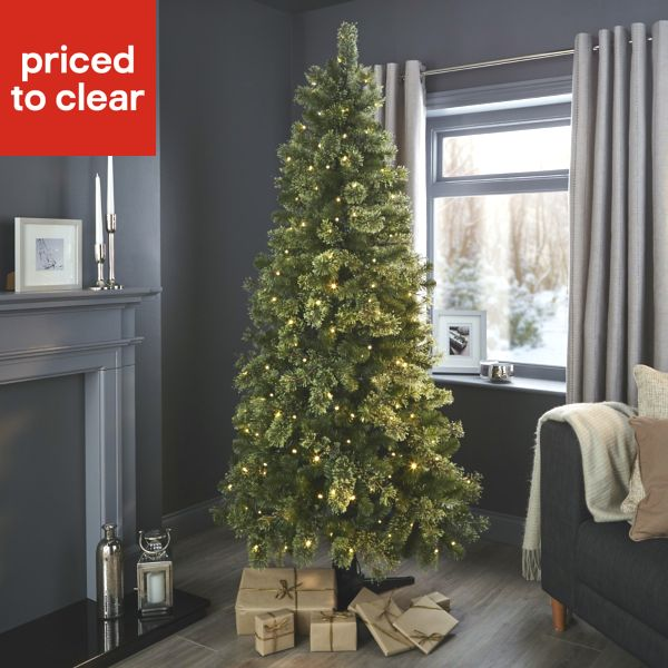 pre-lit TREES - DIY At B&Q