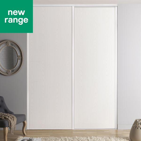 Sliding wardrobe doors kits bedroom furniture diy at bq valla single amp partition doors solutioingenieria Images