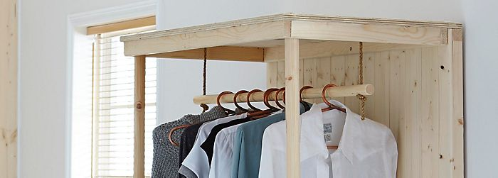 How to make a wardrobe ideas advice diy at bq how to make a wardrobe solutioingenieria Image collections