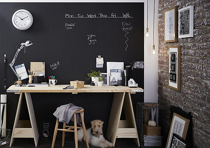 office & How to use craft blackboard u0026 furniture paints | Ideas u0026 Advice ...