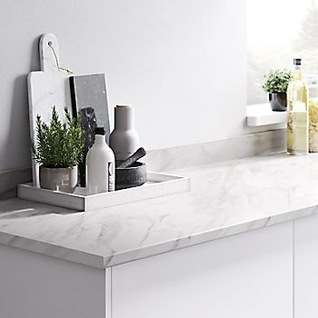 Algiata Laminate Marble Effect Kitchen Worktop