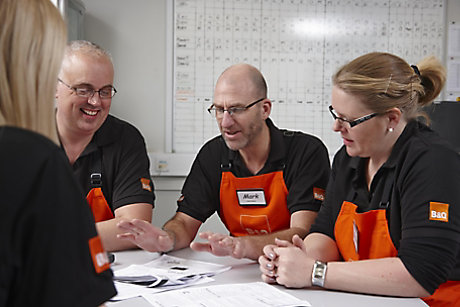 B&Q colleagues