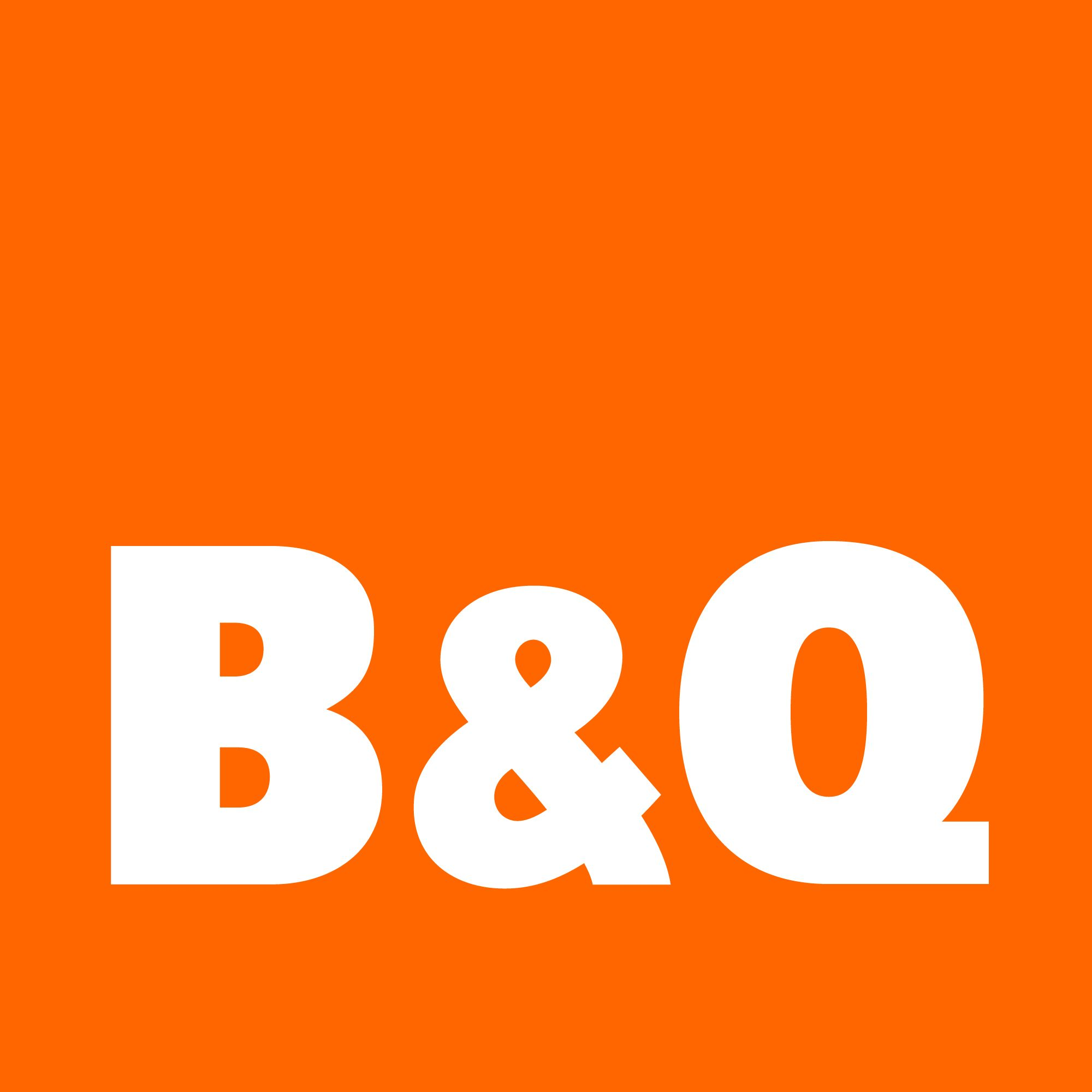 B&Q logo, via B&Q website