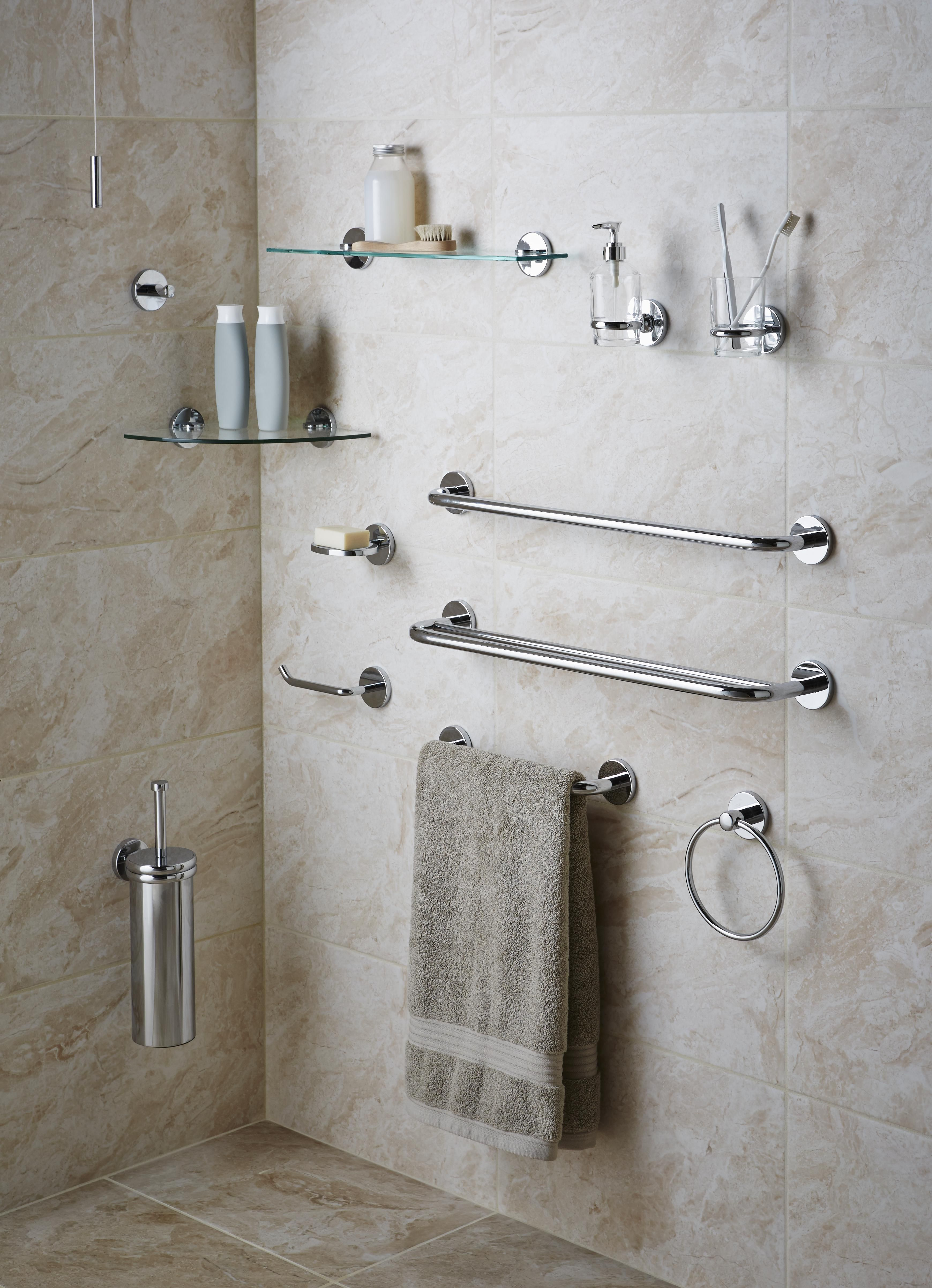 Gentil Wall Mounted Bathroom Accessories