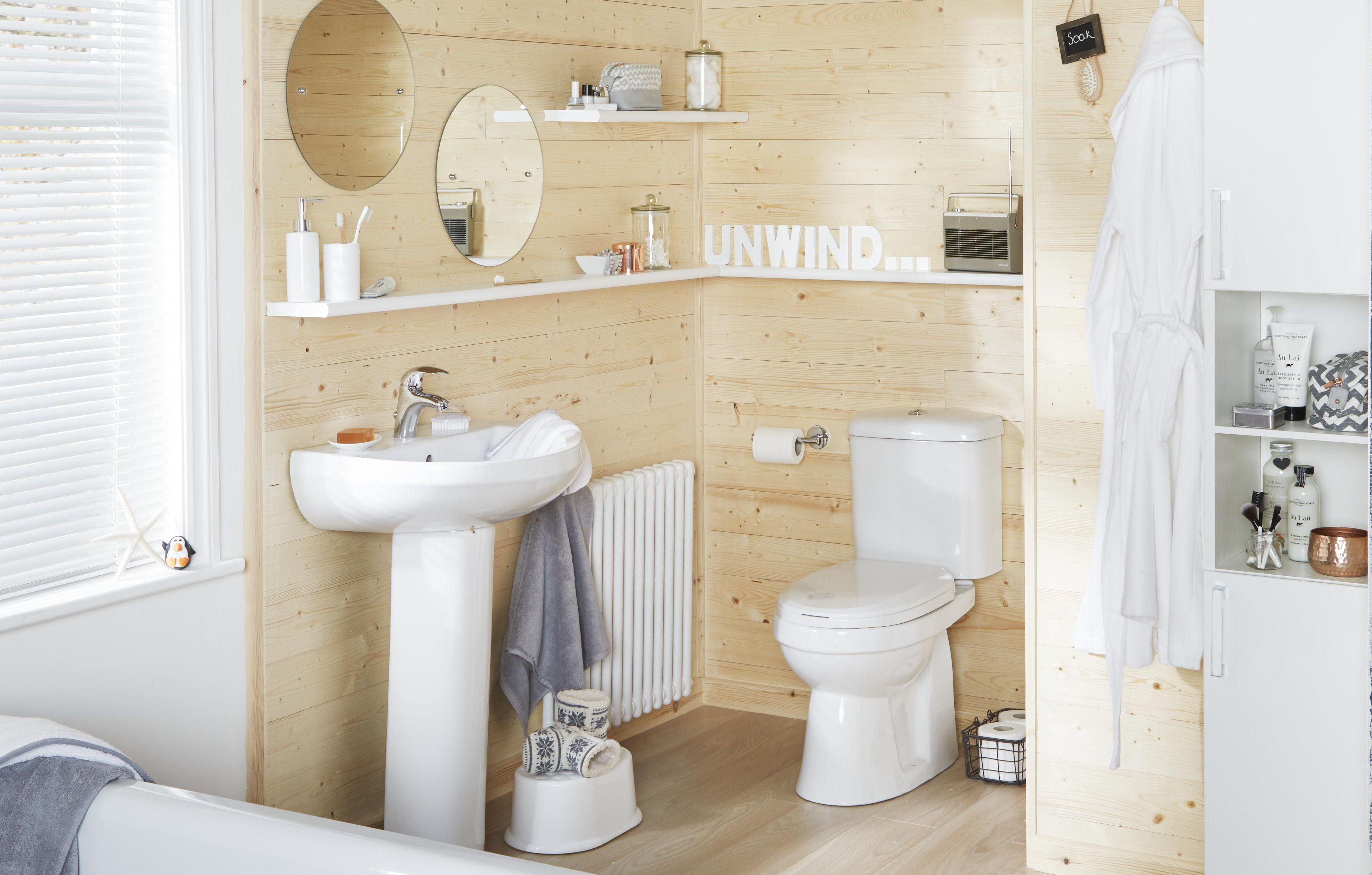 Falmouth | Simply Stylish Bathroom Suites | DIY at B&Q