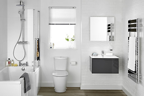 Bathroom Suites | Complete Bathroom Suites | DIY at B&Q