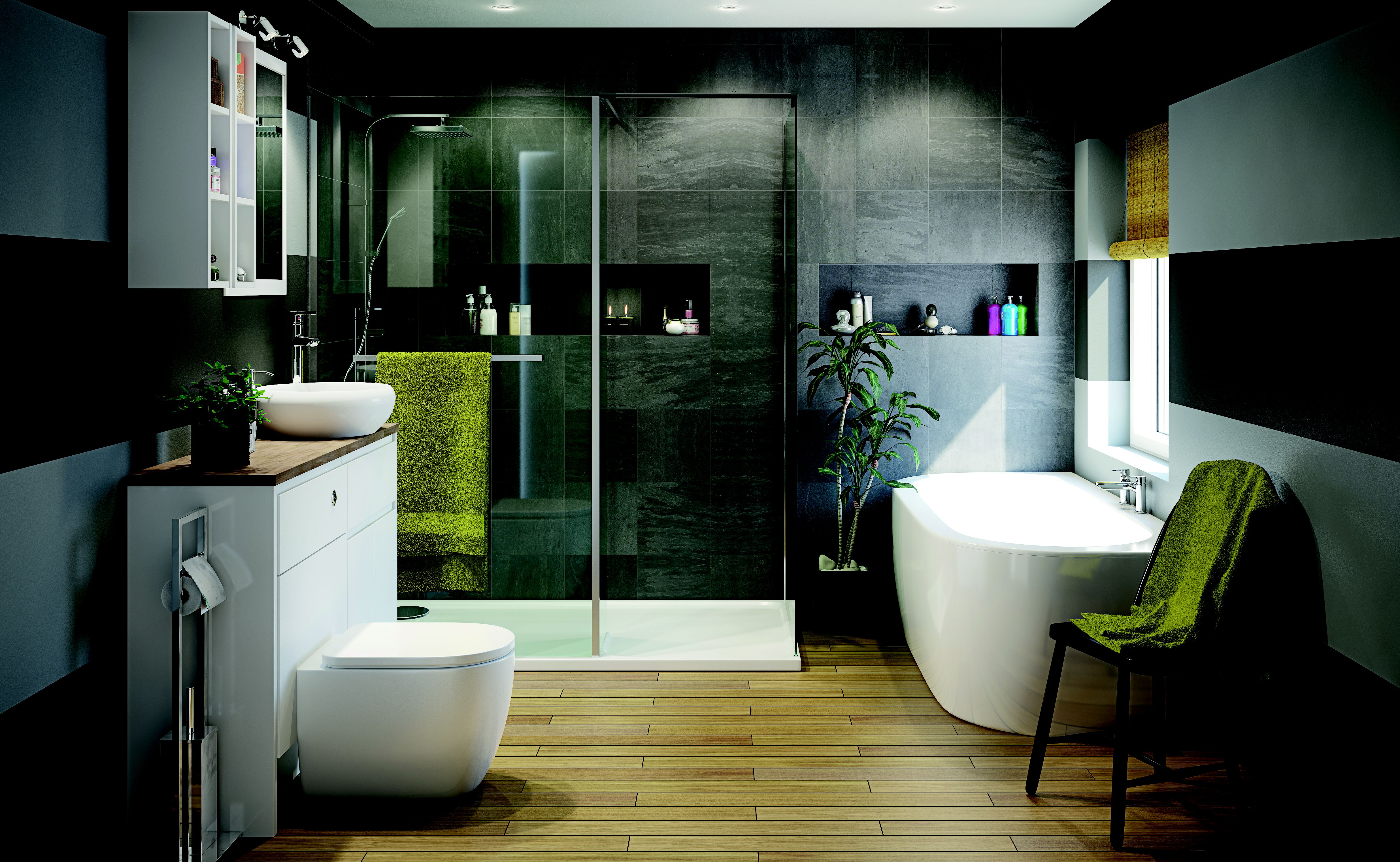 Spa Bathroom Designs