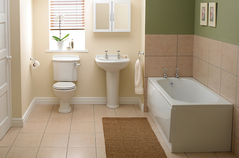 Image of the Romsey bathroom