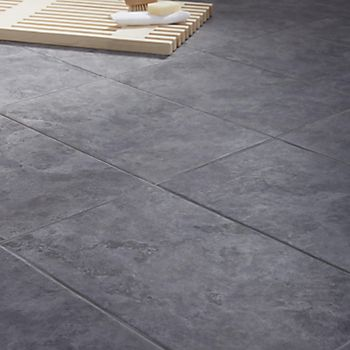 Oscano grey floor tile