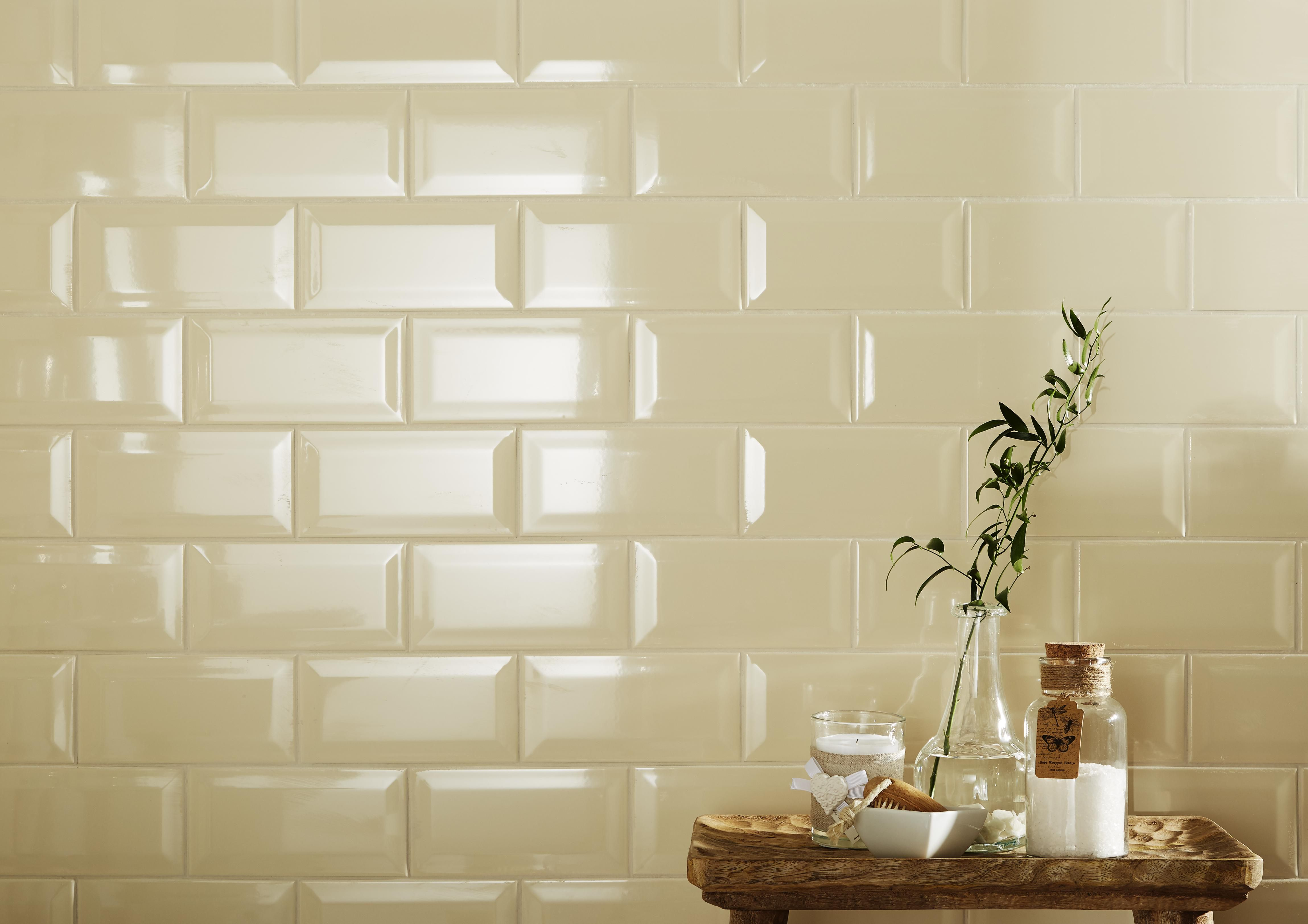 Oscano Pebble Stone effect Ceramic Wall floor tile Pack of 6 L
