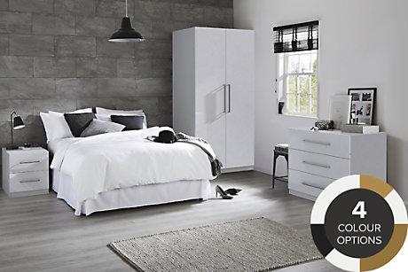 Bedroom Furniture Ranges | Bedside Tables & Cabinets | DIY at B&Q