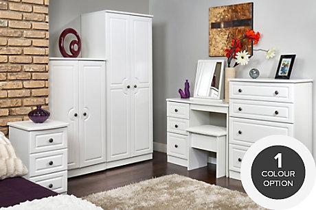 polar - Bedroom Furniture White
