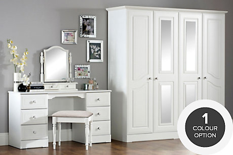 pre assembled bedroom furniture ranges | diy at b&q