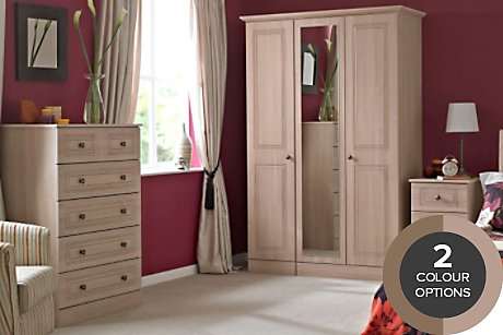Romany Pre-Assembled Bedroom Furniture